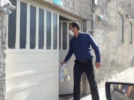 تهیه و پخش بسته های معیشتی برای افراد نیازمند در لم آباد