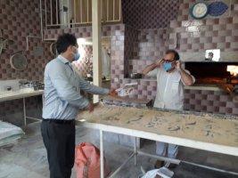 پخش 4000 عدد ماسک بهداشتی و محلول ضد عفونی در لم آباد