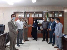 دیدار رئیس و اعضای شورای بخش ملارد با بخشدار